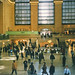 New York City  - Manhattan - Grand Central Station - Auditorium Area With Iconic Clock  - 1985