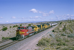 ATSF 536 East at Waldo, NM (thechief500) Tags: bnsf railroads atsf glorietasubdivision nm newmexico santaferailway