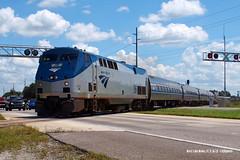 180916_02_AMTK98_92wlw (AgentADQ) Tags: amtrak passenger train trains central florida railroading railfanning silver meteor amtk 98 p42 shorty star