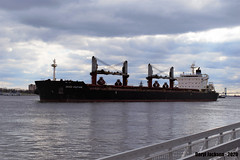 The Genco Aquitaine (GhostStationPA86) Tags: philadelphia pennsylvania unitedstates pennslanding bulkcarrier ship delawareriver gencoaquitaine