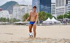 Copacabana beach (alobos life) Tags: copacabana happy players nice beautiful cute brazilians boys garotos rio de janeiro brasil brazil beach playa sunga