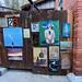 Bisbee frame paintings