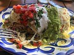 Fiesta Burrito (janetfo747 ~ Dreaming of Africa) Tags: town eatfoodie humhumohyummy dinner lunch colorful sweet savory comfort restaurant homecooking cooking