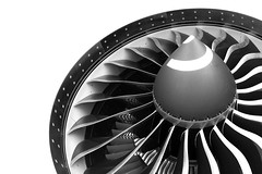 GE90 Engine of the Boeing 777-200LR (BOSCHH) Tags: bw white black electric general military engine boeing 777200lr 777200 ge90 n6066z canon airplane fly airport fighter force aviation air flight jet helicopter civil airline fighterjet aviationgeek aviationdaily sky plane photography photo photos cockpit pilot spotting planespotting blackandwhite
