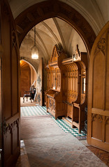 Tyntesfield hallway (archidave) Tags: bristol architecture gothic mansion victorian revival