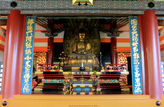 Buddha @ Kiyomizu-dera (Rick & Bart) Tags: 中文 kiyomizudera temple 清水寺 ancient historic unescoworldheritagesite higashiyamadistrict japan nippon 日本 rickbart city landoftherisingsun rickvink canon eos70d kyoto 京都市 architecture sculpture statue