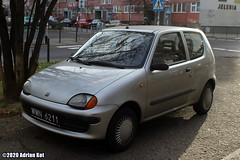 FIAT Seicento young (Adrian Kot) Tags: fiat seicento young