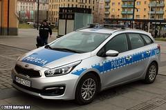 Kia Cee'd SW Policja B144 (Adrian Kot) Tags: kia ceed sw policja b144