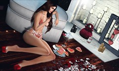 ♥ (♛Lolita♔Model-Blogger) Tags: lolitaparagorn blacklace ncore dahlia luanesworld blog blogger blogs beauty bodymesh bento