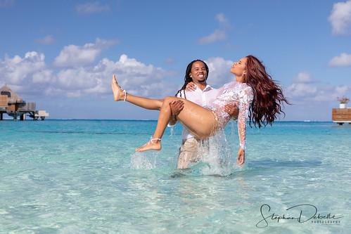 Krisheena & Kevin - The Conrad Bora Bora