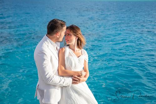 Maria & Alessandro - The Conrad Bora Bora Nui