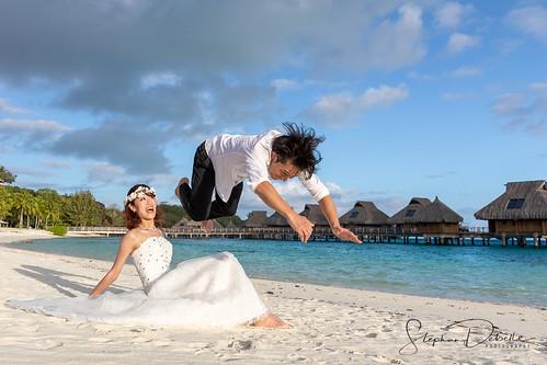 Tomoyo & Jun - The Conrad Bora Bora Nui