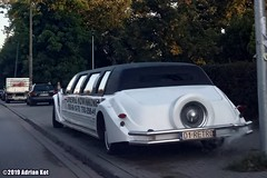Lincoln Town Car stretched limousine (Adrian Kot) Tags: lincoln town car stretched limousine