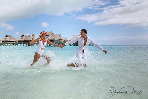 Kimberly & Brandon - The Conrad Bora Bora