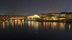 Prague (denis.fleurot) Tags: prague photodenuit château vltava praha républiquetchèque europe capitale cz huawei smartphone