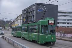 472 (200er Serie) Tags: tram drämmli bvb basler verkehrsbetriebe grün schienenfahrzeug schindler waggon pratteln cornichon