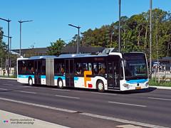 Mercedes Citaro C2 G Ü - RGTR (Emile Frisch 1208) (Pi Eye) Tags: mercedes o530 citaro citarog citarogü articulé gelenk c2 luxembourg avl vdl multiplicity rtgr letzebuerg bus