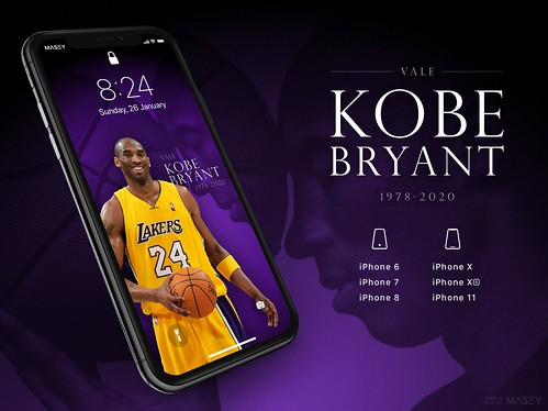 Vale Kobe Bryant 1978 2020 Iphone Wallpapers A Photo On Flickriver