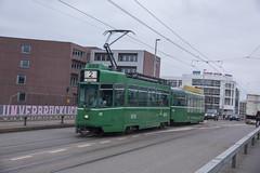 477 (200er Serie) Tags: tram drämmli bvb basler verkehrsbetriebe grün schienenfahrzeug schindler waggon pratteln cornichon