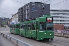 492 (200er Serie) Tags: tram drämmli bvb basler verkehrsbetriebe grün schienenfahrzeug schindler waggon pratteln cornichon