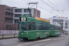 479 (200er Serie) Tags: tram drämmli bvb basler verkehrsbetriebe grün schienenfahrzeug schindler waggon pratteln cornichon