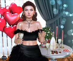 🍓Champagne and strawberries, a perfect match!🍓 (♛Sara Meifs♛) Tags: chicchica treschic sintiklia