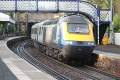 ABERDOUR 43129 (johnwebb292) Tags: aberdour fifecircle diesel hst class 43 scotrail 43129
