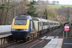 ABERDOUR 43181 (johnwebb292) Tags: aberdour fifecircle diesel hst class 43 scotrail 43181