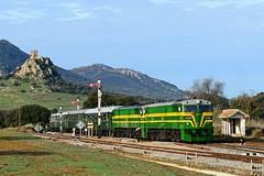 PTG Tours Zafra - Madrid Chamartín. (Félix_252) Tags: tours ptg 2100 renfe ferrocarril ffcc almorchón zafra train zug tren alsa