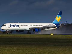 Condor | Boeing 757-330 | D-ABOM (MTV Aviation Photography) Tags: condor boeing 757330 dabom boeing757330 airlivery norwichairport norwich nwi egsh canon canon7d canon7dmkii