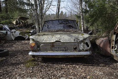 #B59 (Timster1973 - thanks for the 19 million views!) Tags: varmland bastnas sweden swedish car graveyard cargraveyard color colour cars vehicles lost explore exploration urbanexplore urbex ue tim knifton timster1973 timknifton derelict decay urban urbanexploration eurotour canon europe europeanurbex urbandecay abandoned abandon abandonment forgot forgotten forgottenplaces neglect neglected decaying decayed dereliction urbanwandering exploring old still silent left leftbehind vintage abandonedplaces abandonedspaces beauty beautiful transport transportation carmargeddon rust rusting rusty rusted ruins ruin carcemetary