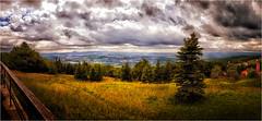 Blick auf das Böhmische Hinterland (renschmensch) Tags: böhmen tschechien panorama