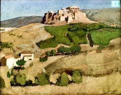 A Acrópole (França, c.1925) - Joseph Inguimberty (1896-1971)