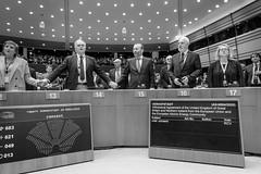 Brexit: I dzień sesji plenarnej Parlamentu Europejskiego w Brukseli