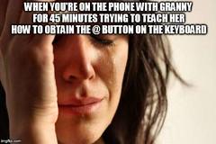 First world problems (gagbee18) Tags: aww funny funnypics lmao lol memesfirstworld problems wtf