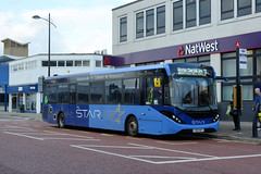 67279 - YX69 NSY (Solenteer) Tags: thestar firstsolent firsthampshiredorset 67279 yx69nsy alexanderdennis e20d enviro200mmc waterlooville