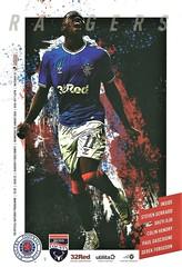 Rangers v Ross County 20200129 (tcbuzz) Tags: rangers football club ibrox stadium glasgow scotland spfl premiership programme