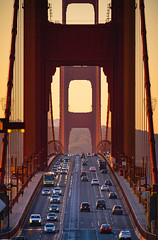 🇺🇸 Golden Gate Bridge | San Francisco (dawvon) Tags: westpacificstates sunrise bridge northamerica city goldengatebridge traffic suspensionbridge california urban road sanfrancisco goldengate twilight architecture unitedstates cars america cityandcountyofsanfrancisco dawn frisco halflight pacificstates sf sanfran stateofcalifornia strait thecity thegoldenstate theunitedstates theunitedstatesofamerica us usa unitedstatesofamerica