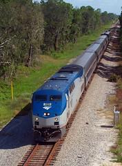 180922_01_AMTK198_91ecr (AgentADQ) Tags: amtrak passenger train trains railroad railfanning florida aline silver star amtk 198 91 ernie caldwell road hurricane florence