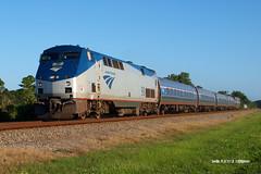 180923_01_AMTK98_91sev (AgentADQ) Tags: amtrak passenger train trains railroad railfanning florida aline silver star amtk 98 91 seville hurricane florence