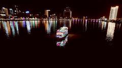 2020-Vietnam 13 (sakamichi-66) Tags: vietnam danang river boat nightview fuji xf1680mmf4 xh1 illumination