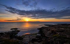 Cabo Cervera (Vest der ute) Tags: xt2 spain rocks beach sunrise sea seascape sky clouds fav25 fav200