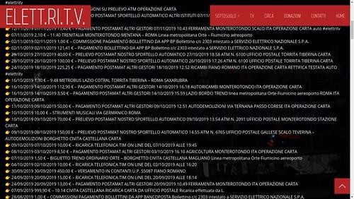 🎥#elettritv📲💻 #bilancio #2019 #trasparenza #donazioni 💳 #baratto #bilancioweb #musica #video #dalvivo 🙌 #sottosuolo #rete #libera #music #budget 🎸 #webtvmusicaoriginale #playlist #postepay  #un