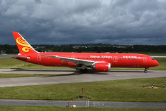B-6998 Boeing B787-9 EGPH 30-06-19 (MarkP51) Tags: scotland airport edi airliner egph sunshine plane nikon image aircraft airlane d7200 nikon24120f4vr markp51 sunny edinburgh boeing hu b787 chh hainanairlines b7879 b6998