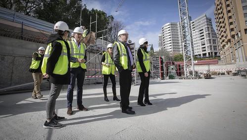 0129 Alcalde visita obres nou centre Vodafone València (5)