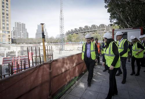 0129 Alcalde visita obres nou centre Vodafone València (3)