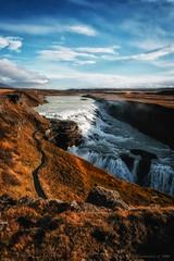 Amazing Iceland - Gullfoss VII (Passie13(Ines van Megen-Thijssen)) Tags: gullfoss ijsland iceland island waterval waterfall wasserfall canon inesvanmegen inesvanmegenthijssen