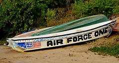 POTUS has arrived (Breboen) Tags: president usa trump airforce airforceone boat old fun potus