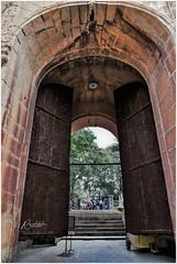 Delhi Gate of Bangalore Fort (Ramalakshmi Rajan) Tags: bangalorefort bangalore travel nikon nikond750 nikkor24120mm history karnataka india indianarchitecture architecture