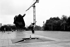 Classic oliie (gborgskij) Tags: skateboarding analog 35mm film nikon 85 hp5 2019 trip hc110 warsawa streetplaza fm